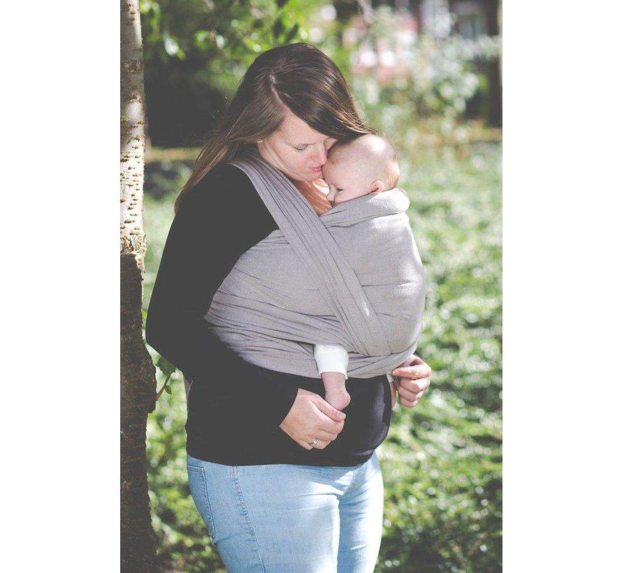 Pure Baby Love geweven draagdoek in de kleur Taupe.