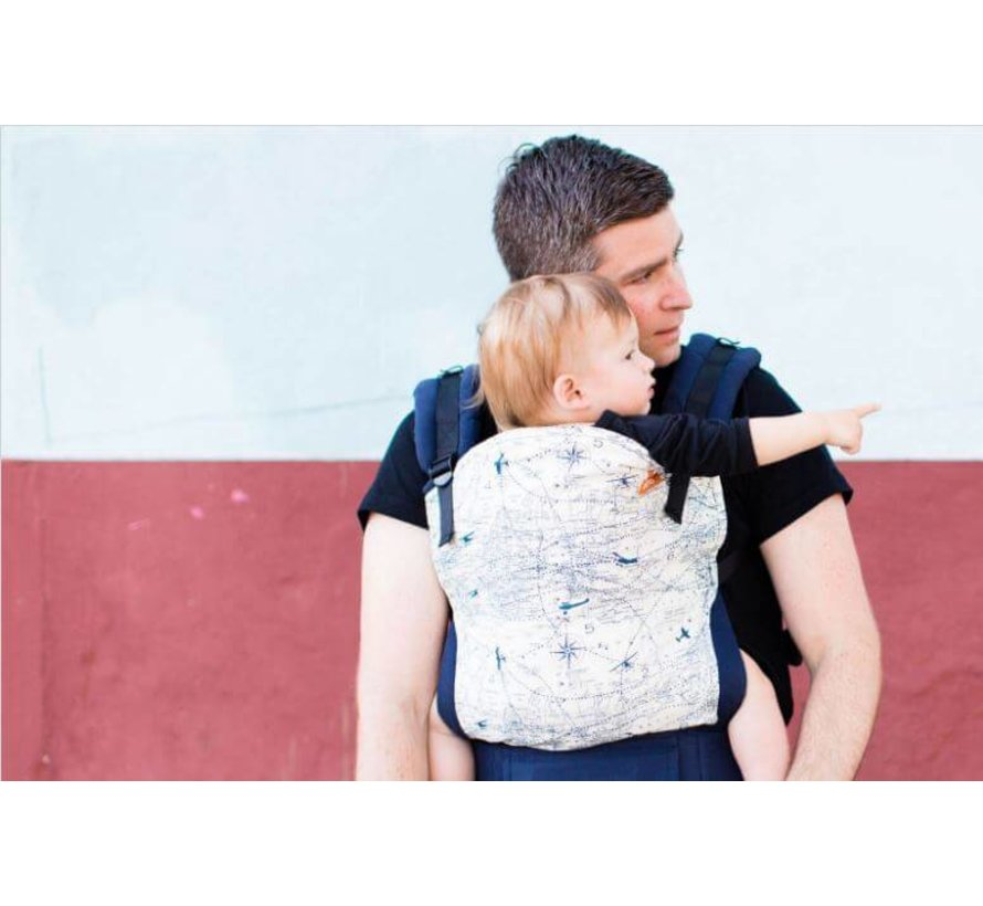 Tula Navigator , tula draagzak in toddler en baby.