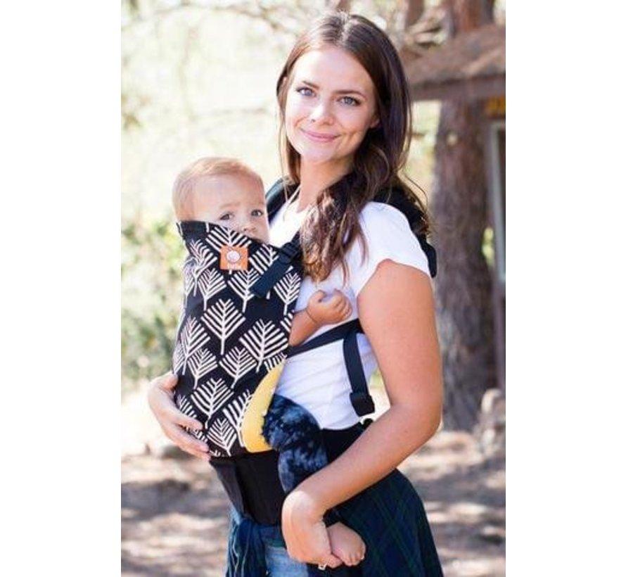 Tula Arbol, tula draagzak in toddler en baby.