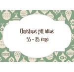 Weihnachtsgeschenktipps von 55 bis 85 Euro