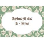 Weihnachtsgeschenktipps von 85 bis 110 Euro