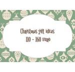Weihnachtsgeschenktipps von 110 bis 160 Euro