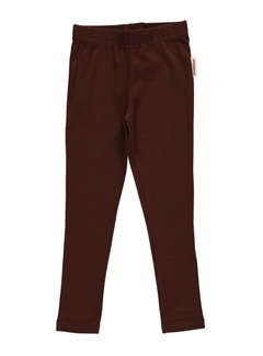 Maxomorra Maxomorra Leggings Dark Brown