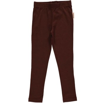 Maxomorra Maxomorra Leggings Dark Brown
