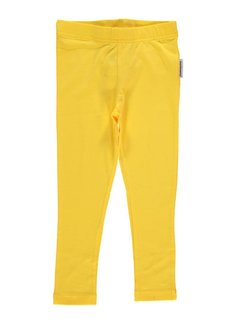 Maxomorra Leggings Yellow
