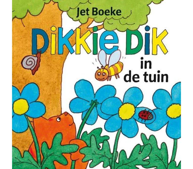 DIKKIE DIK IN DE TUIN - FLAPJESBOEK