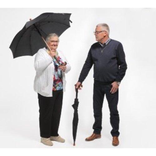 Combinaison parapluie/canne - noir