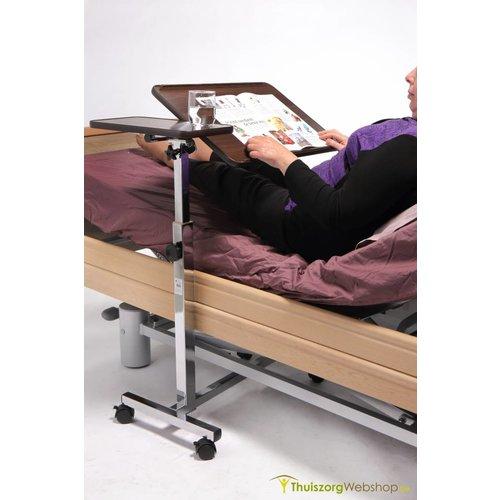 Table de lit avec 2 tablettes