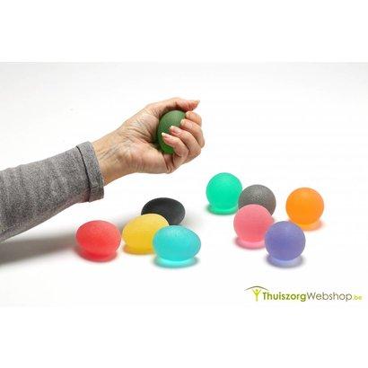 Ergonomisch gevormd premium oefenballetje (Premium) - Eggsercizer® - in 5 sterktes