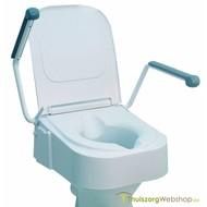 Rehausseur de toilette réglable en hauteur