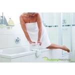 Multifunctionele en verstelbare handgreep voor op de badrand Hugo