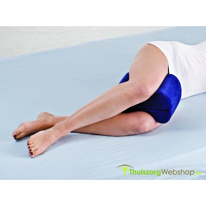 Ergonomisch knie- en beenkussen met traagschuim