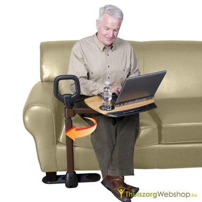 Transferhulp voor de zetel met wegdraaibaar tafeltje