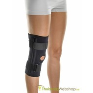 Knieverband met flexibele springveer
