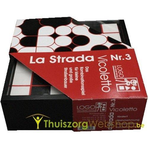 Stratenspel: La Strada (3 versies)