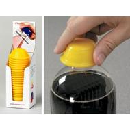 25 Flessenopeners Dycem® in dispenser