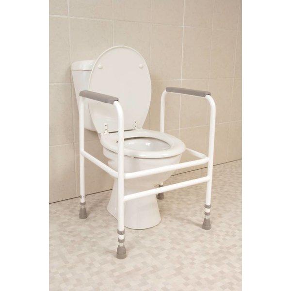 Toiletkader wit