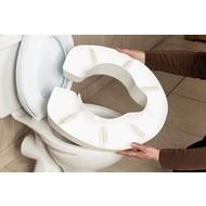 Opzet toiletverhoger zonder klemschroeven