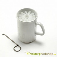 Tremorbeker - Cup for persons with a trembling hand