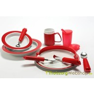 Red egg tool set for Alzheimer's patient