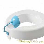 Toiletverhoger met plasbeschermer
