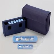 Pochette Medinizer avec 7 boîtes à médicaments