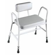 Siège de douche XL extra large et solide, avec une assise en vinyle