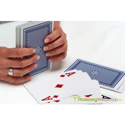 Grote speelkaarten 15 x 10 cm