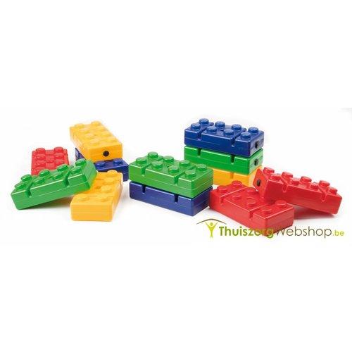 Briques de construction pour parcours - set de 12