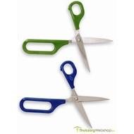 Ciseaux Easi-Grip® avec 1 grande ouverture dans la poignée, à ouverture automatique
