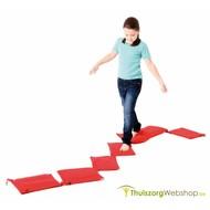 Tactiel voetpad met 7 zakken