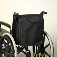 Opbergtas voor achteraan de rolstoel