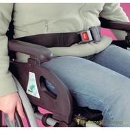 Ceinture de sécurité pour chaise roulante
