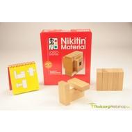 Bouwstenen hout Nikitin N4 - van bouwplan tot constructie
