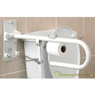 Toiletpapierhouder voor op wandbeugel