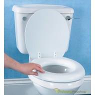 Zachte toiletzitting met vinylbekleding voor gewoon toilet
