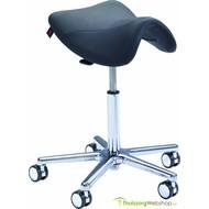 Werk/trippelstoel zadelvorm Swippo