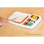 Theomatik - Design boterhamplank voor eenhandig gebruik