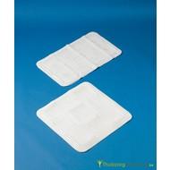 Tapis de bain/douche Softfeel sans latex, antidérapant, blanc