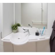 Hoogteverstelbare lavabo