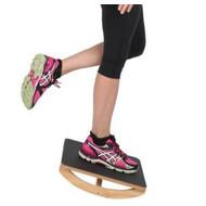 Planche d'équilibre/de balance en bois unidirectionale