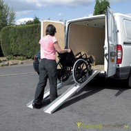 Telescopic ramps for heavy loads from 1.6 to 3m