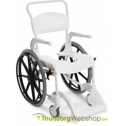 Chaise Roulante Pour Douche Etac Clean Avec Des Grandes Roues