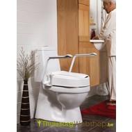 Toiletverhoger met opklapbare armsteunen