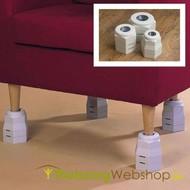 Rehausseur de meuble 2,5, 5 ou 7 cm
