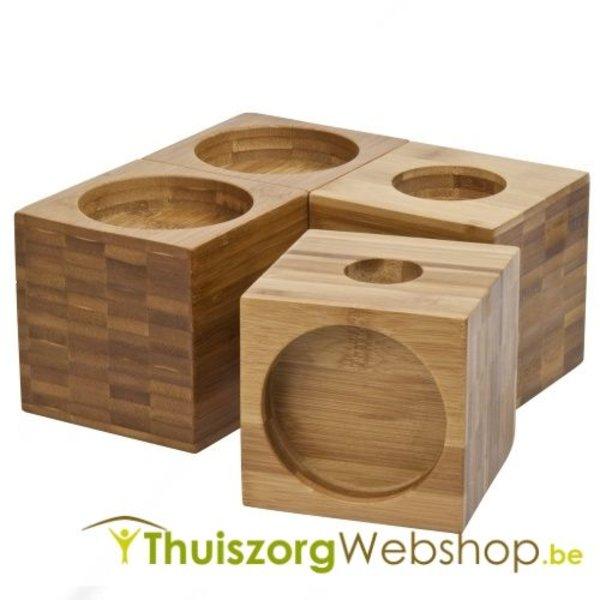 Meubelverhogers in bamboe