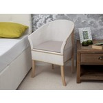 Chaise percée luxe Basket Weave