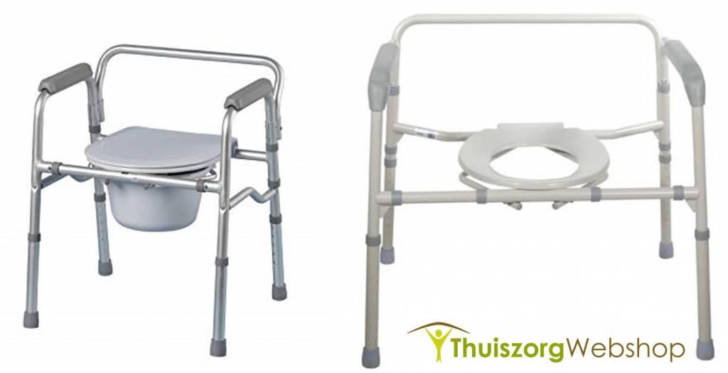 Chaise perc e cadre de toilette avec lunette pliable days soins a domicile webshop livraison - Chaises percees de toilette ...