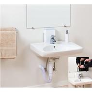 Hoogteverstelbare lavabo Ropox Moldau