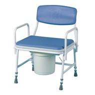 Hoogteverstelbare toiletstoel XL voor zware personen
